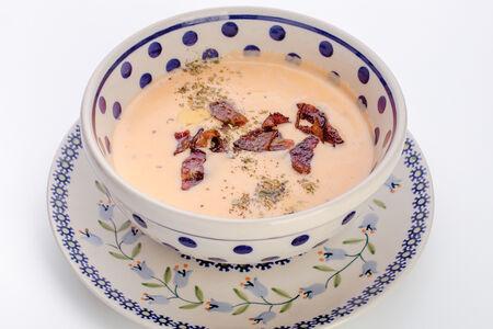 Суп Сырный с беконом