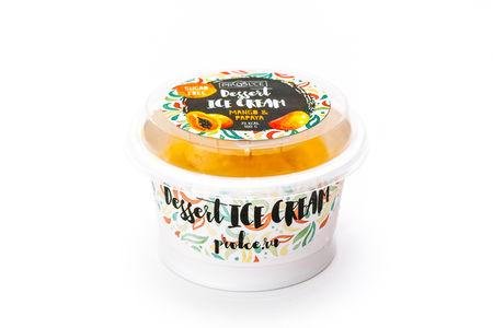 Десертное мороженое Манго-папайя
