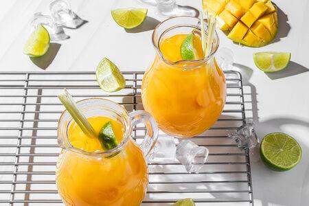 Айс ти манго-лемонграсс