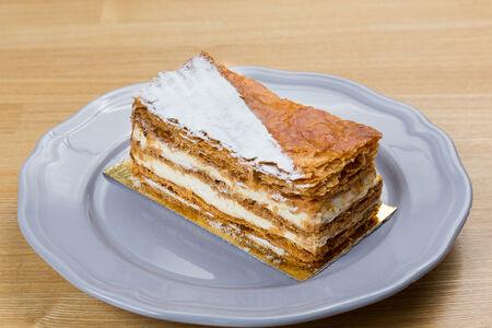 Пирожное Мильфей ванильный