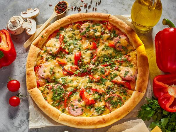 Lafa pizza