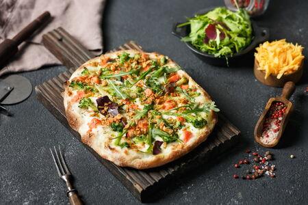 Пицца Брокколи-лосось