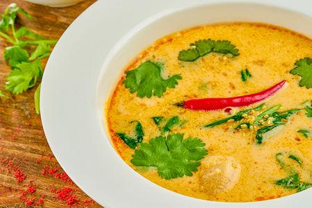 Суп тайский Том Ям