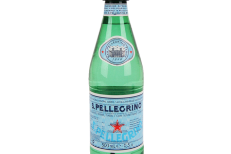 Вода минеральная газированная S. Pellegrino Италия
