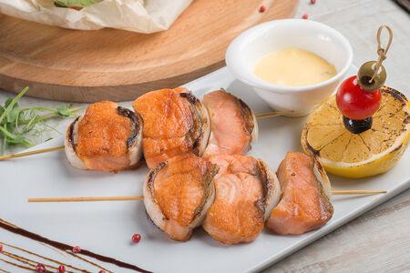 Шашлык из лосося