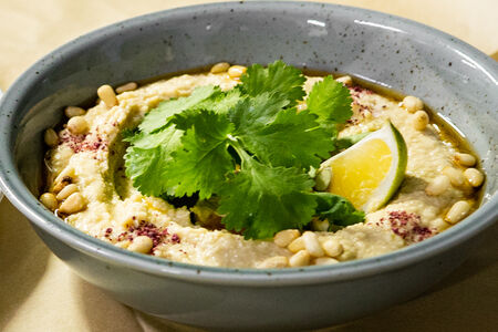 Ливанский хумус с питой