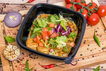 Теплый салат Грассето