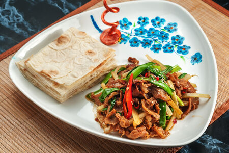 Баранина с тайским перцем