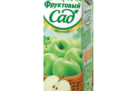 Сок яблочный