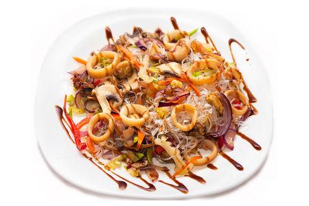 Фунчоза с морепродуктами