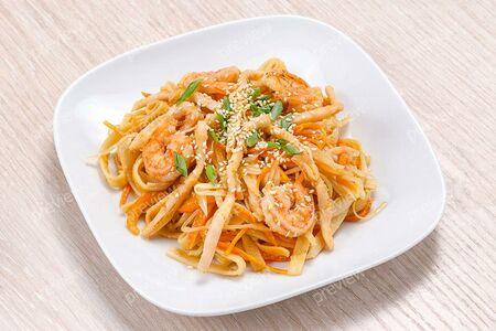 Морепродукты с китайским соусом