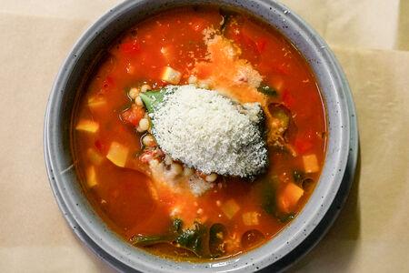 Суп Минестроне с темпестине