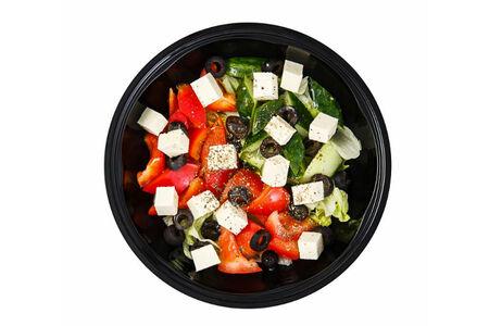 Салат Греческий с тофу