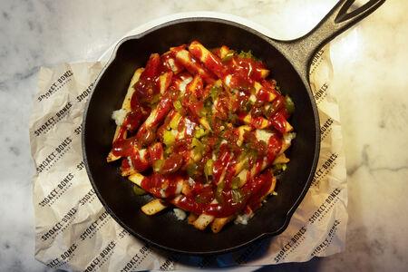 Картофель фри с Горгондзолой