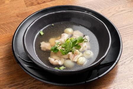 Суп Уха из щуки, окуня и судака