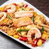 Фото к позиции меню Теппаньяки Рис с морепродуктами
