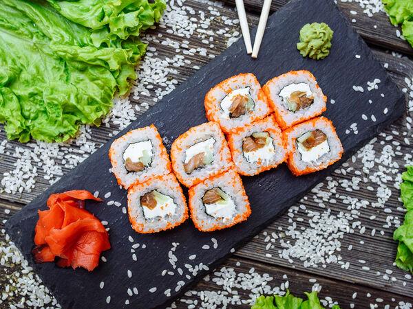 Sushi and Burger