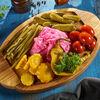 Фото к позиции меню Букет из маринованных овощей