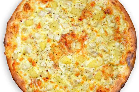 Пицца Курица с ананасом
