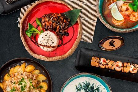 Японский обед на двоих