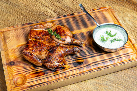 Цыпленок жареный