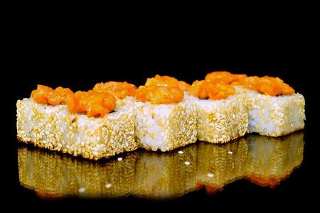 Печеный ролл Мадрид с лососем