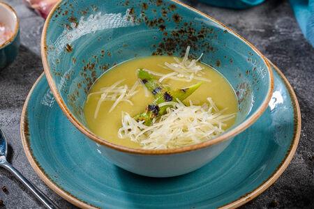 Суп-пюре из новозеландской спаржи