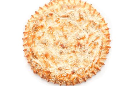 Пицца-пирог с ветчиной и сыром
