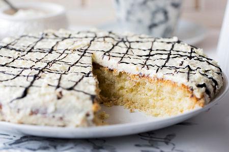 Пирог сладкий Кокосовый