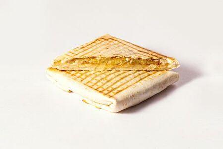 Питерский тост с драником и сыром