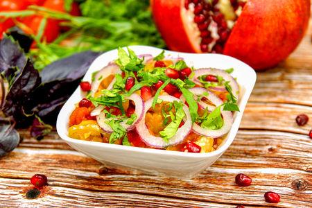 Острый мангал-салат