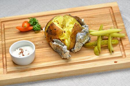 Запеченный картофель гриль