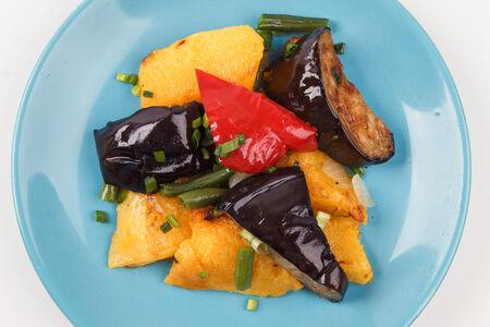 Рагу овощное с тыквой