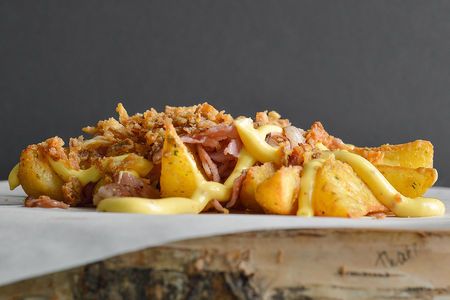 Картошечка с беконом