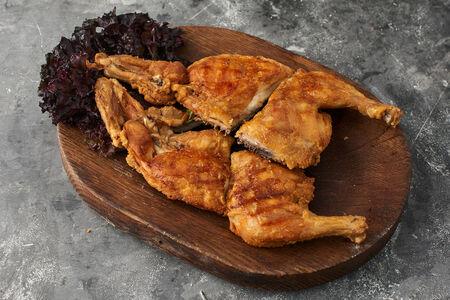 Цыпленок на мангале