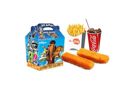 Комбо Рыбные палочки с игрушкой