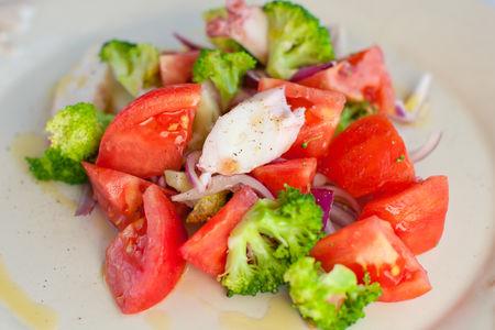 Салат с осьминогом по-сицилийски