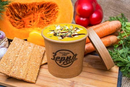 Тыквенный суп на кокосовым молоке