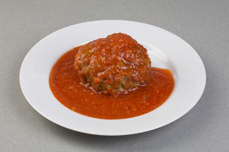 Тефтель рыбная в томатном соусе