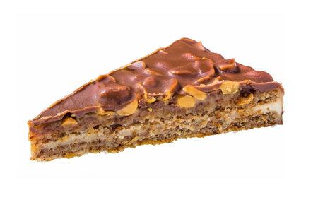 Карамельно-ореховое пирожное