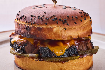 Бургер с мясом