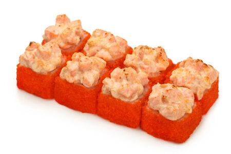 Запечённый ролл Сырный с лососем