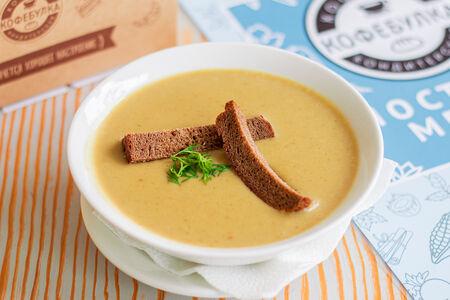 Суп-пюре с белыми грибами и брокколи