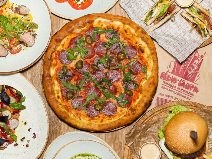 Нью-Йорк пицца и гриль