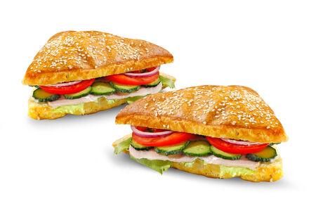 Сэндвич с грудинкой