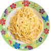 Фото к позиции меню Спагетти с сыром