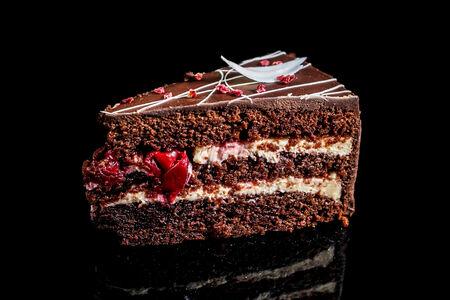 Торт Шоколадно-вишневый чиз