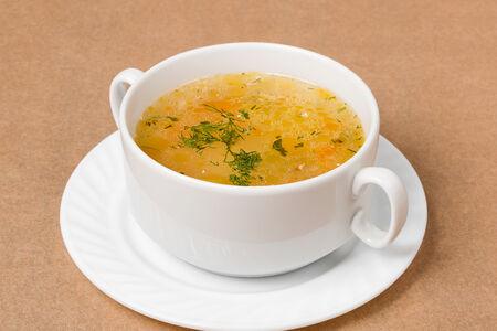 Суп Лапша домашняя куриная