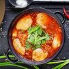 Фото к позиции меню Суп Кимчи Тиге с курицей
