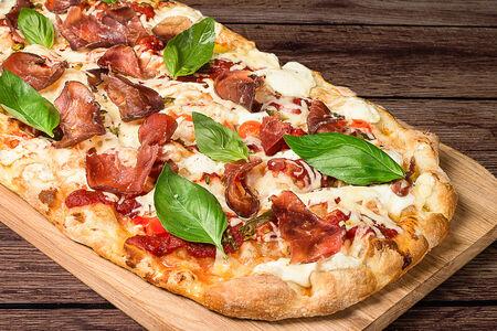 Пицца Карпаччо с халапеньо, острая